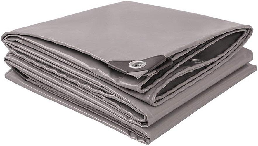 ATR épaisseur de Tissu Anti-UV Anti-intempéries Anti-intempéries imperméable de bache gris 0.45mm 520g   m \u0026 sup2; (Couleur  gris, Taille  6  6m)
