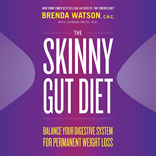 Page de couverture de The Skinny Gut Diet