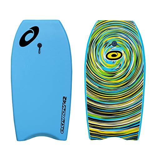 """Bodyboard Osprey IXPE Ciclone Tabla de Bodyboard 42"""" Pulgadas Color Azul Ciclón"""