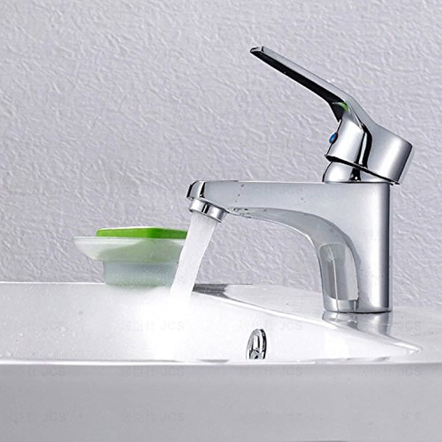 U-Enjoy Polished Chrome Plated Top Quality Faucet with Single Lever Home Bathroom Kitchen Bathroom Sink (Free Shipping)