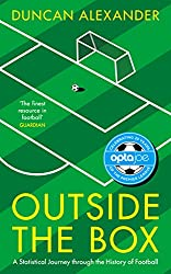 best football analytics books - outside the box