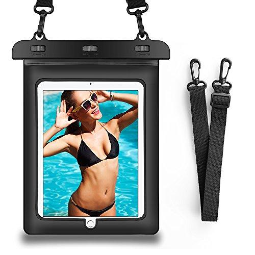 Wasserdichte & schneefeste Tasche für Samsung Galaxy Tab Active Pro 10.1 / Galaxy Tab S6 / Tab A 10.1 (2019) / iPad 10.2 / iPad Air 10.5 / Asus Chromebook Tablet 9.7