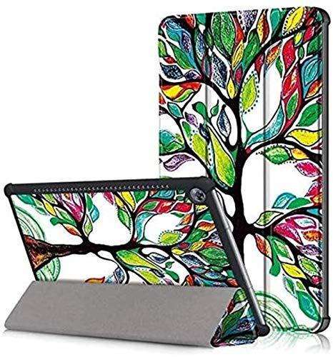 XXY Accesorios De Pestañas para Huawei MediApad M5 10.8, Caja De La Tableta De Cuero Smart PU para Huawei MediApad M5 Pro 10.8 Pulgadas CMR-AL9 CMR-W09 CMR-W19 (Color : 04)