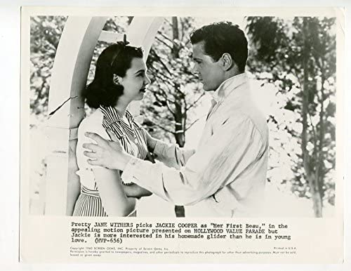 Max 56% OFF MOVIE PHOTO: HER FIRST STILL-JACKIE BEAU-8X10-PROMO COOPER-JANE Cheap