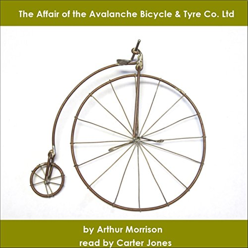 The Affair of the Avalanche Bicycle & Tyre Co. Ltd audiobook cover art