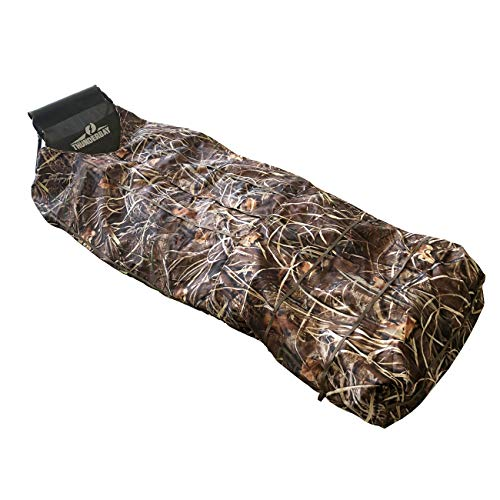 THUNDERBAY Bare Bones Light Weight Layout Blind, Waterfowl Field Hunting Blind for Duck Hunting