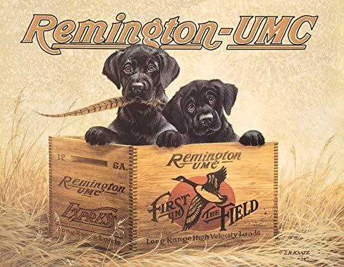 "Desperate Enterprises Remington - Finder's Keepers Tin Sign, 16"" W x 12.5"" H"