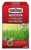 Substral Rasendünger mit Unkrautvernichter - Profiqualität mit 100 Tage Langzeitwirkung und Unkrautvernichtung in einem Arbeitsgang - 0,8 kg für 40 m²