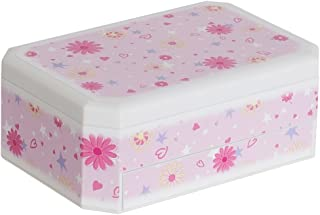 Hayley Girl's Glittery Musical Ballerina Jewelry Box