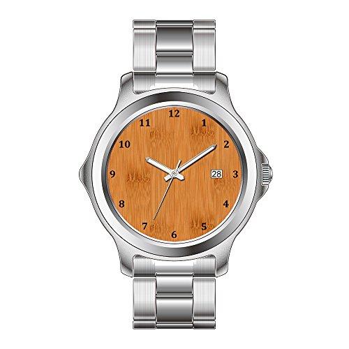 FDC–Navidad Regalo Relojes Hombre Fashion Fecha de Cuarzo japonés Reloj de Pulsera...