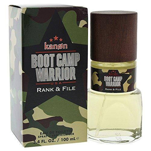 Kanon Boot Camp Warrior Rank & File By Kanon For Men - Edt Spray, 3.4 Ounce