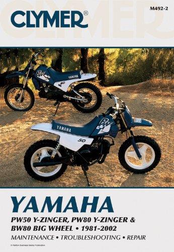 Yamaha PW50 Y-Zinger, PW80 Y-Zinger and BW80 Big Wheel 81-02 (CLYMER MOTORCYCLE REPAIR)