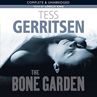The Bone Garden audiobook cover art