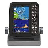HONDEX(ホンデックス) 魚群探知機 ポータブルGPSプロッター魚探 PS-611CN GPS内蔵 5型ワイド