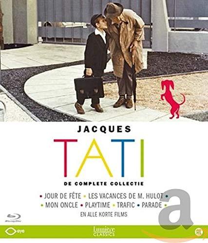 Jacques Tati - Coffret l'Intégrale (Jour de fête / Les vacances de Mr Hulot / Mon oncle / Playtime / Trafic / Parade) [Blu-ray]