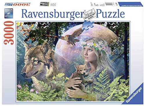 La niña y el Lobo, Puzzle de 3000 Piezas (17033 3)