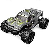 WGFGXQ RC Cars Coche de Control Remoto de Alta Velocidad, Escala 1:18 4WD Todoterreno Monster Trucks, Camiones de Juguete Todo Terreno de 2,4 GHz, con 2 baterías Recargables, Regalo de Juego para n