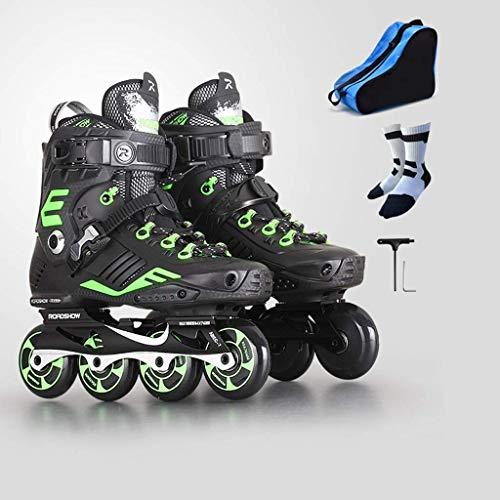Taoke Adult High Performance Inline Skates, Profi Fancy Roller Skates, Geeignet for Anfänger 35-44 Yards (Farbe: # 2, Größe: EU 43 / US 10 / UK 9 / JP 26.5cm) dongdong