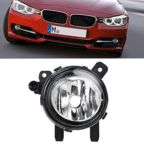 Ricoy Paar Klare Linse Nebelscheinwerfer Lampengehäuse Ohne Birne Fit Für F20 F22 F30 F32 F34 F36 228i 320i 328d (Links)