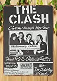 Froy The Clash Band Wall Tin Sign Retro Iron Poster