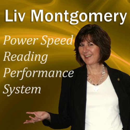 Power Speed Reading Performance System audiobook cover art