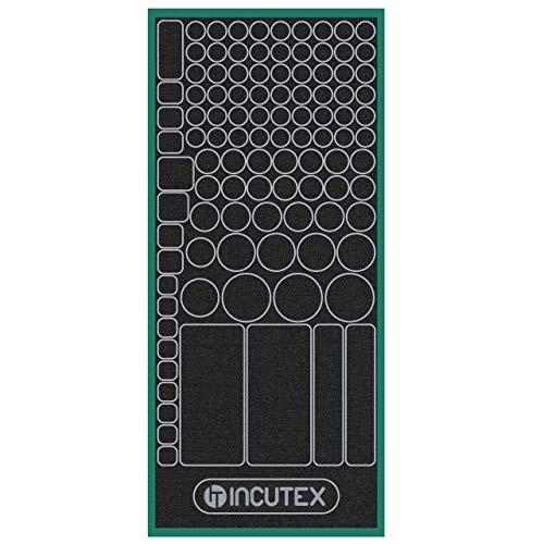 Incutex 124x stickers to cover L...