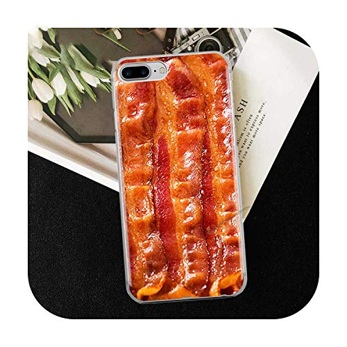 Who-Care Funny Food Dessert Chocolate Beer Phone Case For Iphone 11 Pro Xr 6 6S 7 8 Plus 4S 5S Se Xs Max Cookies Fries Tpu Silicone Case-Tpu A331-For Iphone 7 8 Plus