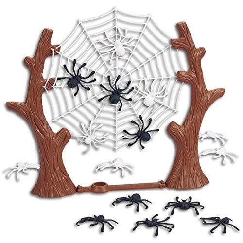 Hotaden Lustige Brettspiel Spielzeug für Kinder Springing Spiders Spiel Schlacht Web