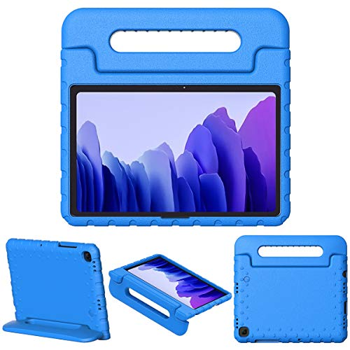 TiMOVO Case for All-New Samsung Galaxy Tab A7 10.4' 2020 Release, Lightweight Shockproof Convertible Handle Stand Kids Case Fit Galaxy Tab A7 Tablet (10.4-Inch, SM-T500/T505/T505N/T507), Blue
