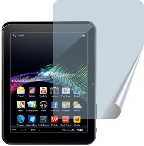 4ProTec I 2X Weltbild, Thalia Cat Tablet PC 4 ENTSPIEGELTE Premium Displayschutzfolie Bildschirmschutzfolie - PASST Nicht AUF Odys PC4
