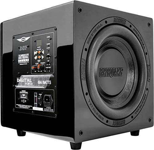 New Earthquake Sound MiniMe DSP P-12 12-inch Powered Subwoofer with DSP Control and SLAPS Passive Radiator Technology