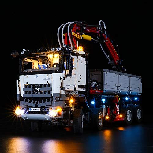 LIGHTAILING Conjunto de Luces (Technic Mercedes-Benz Arocs 3245) Modelo de Construcción de Bloques - Kit de luz LED Compatible con Lego 42043 (NO Incluido en el Modelo)