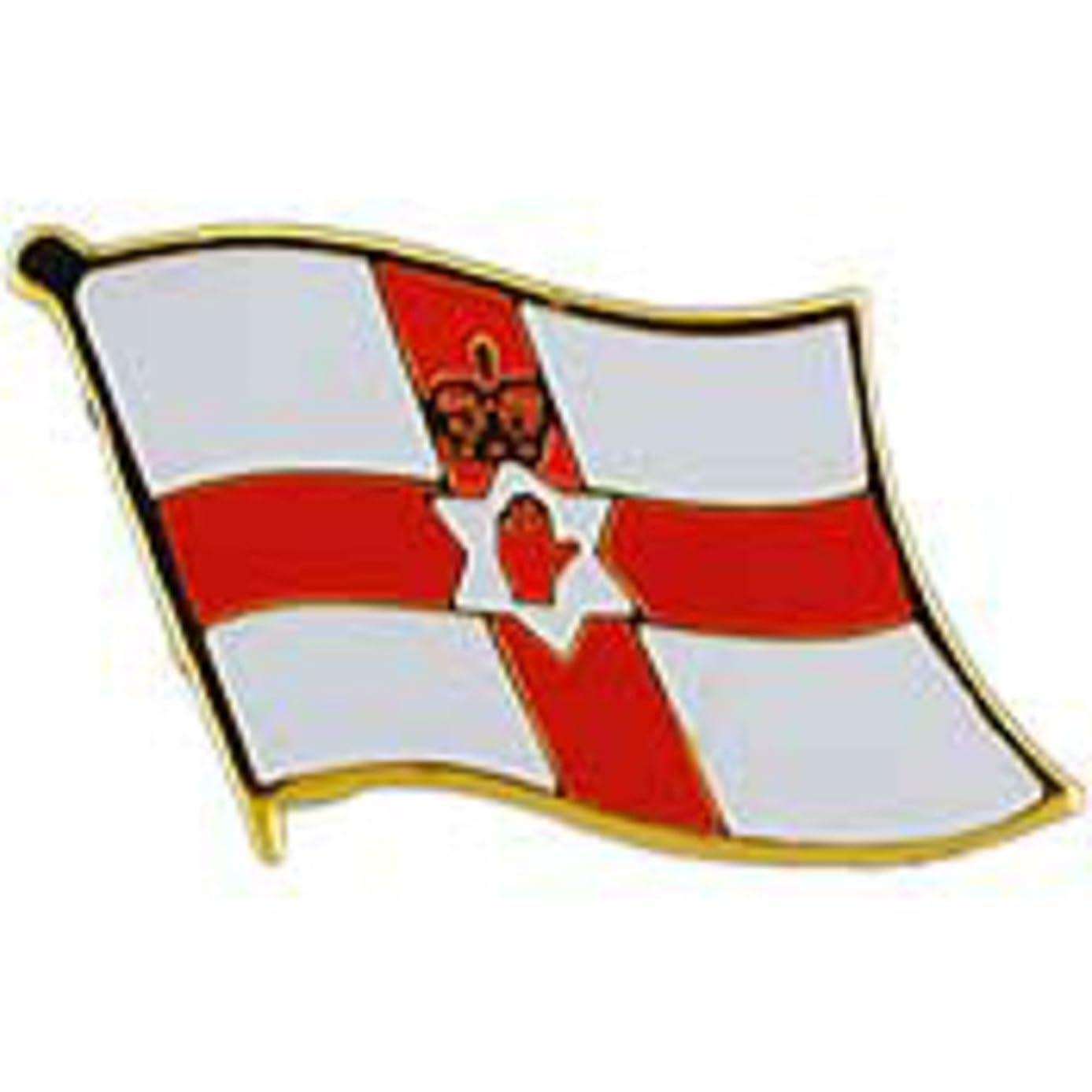 EagleEmblems P09580 PIN-Ireland-North. (Flag) (1'')