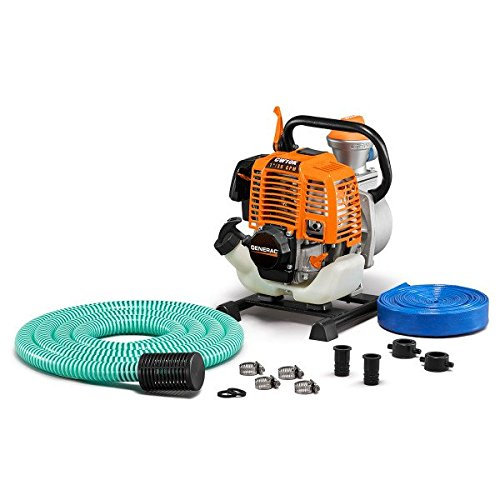 Generac 6917 CW10K Clean Water Pump with Hose Kit, 1'