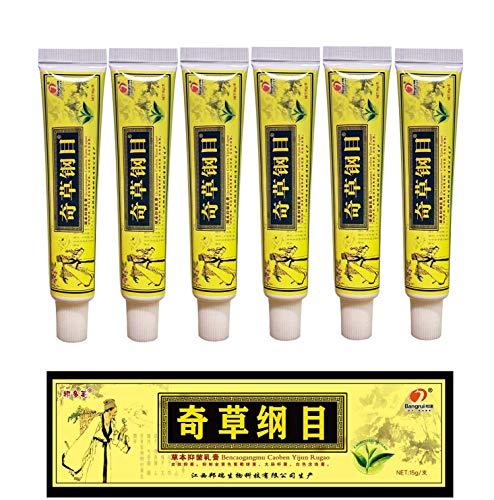 6pcs/Lot Chinese Herbal Eczema, Psoriasis Creams Dermatitis and Eczema Pruritus Psoriasis CEZUBEM Ointment