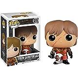 Funko Tyrion Lannister w/ Scar & Battle Armor: Game of Thrones x POP! Figura de vinilo y 1 POP! Compatible con PET protector gráfico [#021 / 03779 - B]