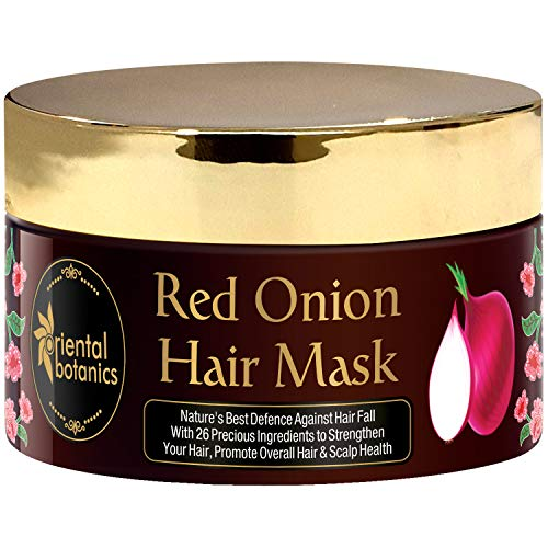 Oriental Botanics Red Onion Hair Mask With Red Onion Oil & 26 Botanical Actives, 200 ml (ORBOT46)