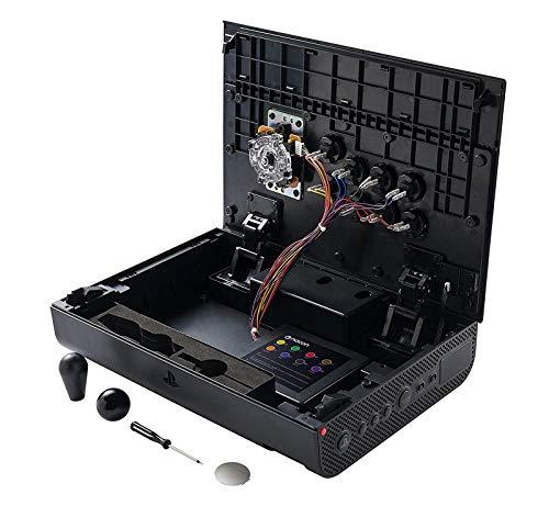 ナコンダイジャアーケードファイトスティックNaconDaijaArcadeFightStickトーナメントグレードeスポーツ格闘ゲームPS4/PS3/PC上部デザイン変更可能モデル3.5mmヘッドセット端子搭載BB4465SONY公式ライセンス製品[並行輸入品]