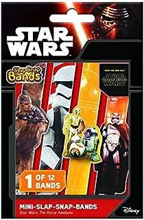 Star Wars Episode VII Pulseras Mini Slap-Snap-Bands (24): Amazon.es: Ropa y accesorios