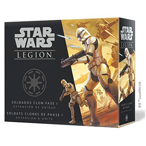 Fantasy Flight Games- Star Wars Legión: Soldados clon fase I, Color (SWL47ES) ,...