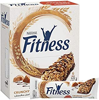Nestle Fitness Crunchy Caramel Oats Breakfast Cereal Bar, 23.5 gm - Pack of 6