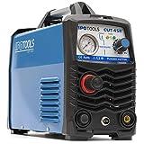 IPOTOOLS Cortadora de plasma CUT-45R – Dispositivo de corte de plasma 45 A hasta 12 mm de capacidad de corte, dispositivo de soldadura inversor con encendido IGBT/HF, azul, 230 V