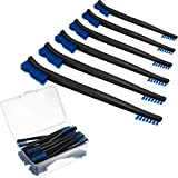 Patelai Double-Ended Gun Cleaning Brushes 7 Inch Nylon Multi-Purpose Cleaning Brush with Plastic Handle (32)