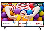 TCL 32P500K 32-Inch LED Smart Android TV HD, HDR, Micro Dimming, Netflix, YouTube, DVB Compatible, Dolby Audio, Bluetooth, Wi-Fi, USB 2 x HDMI, Narrow Design for Kitchen, Bedroom