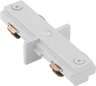 WAC Lighting HI-WT H Track I Connector, White