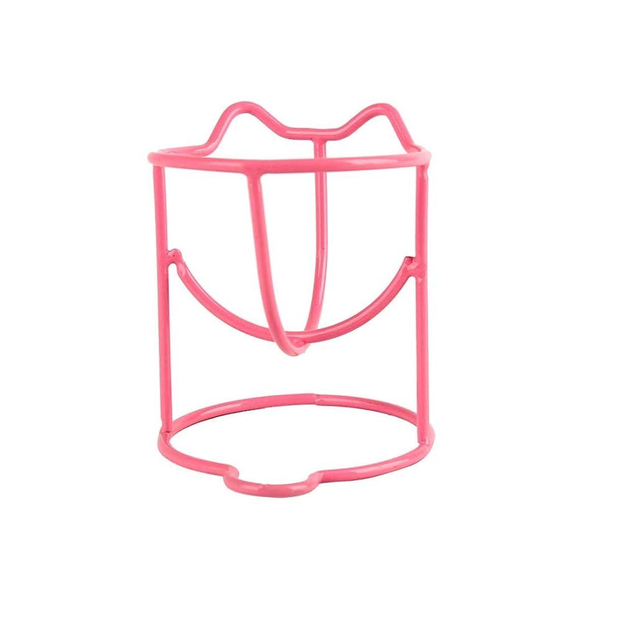 フレキシブルオフセット増強ファッションメイク卵パウダーパフスポンジディスプレイスタンド乾燥ホルダーラックのセット