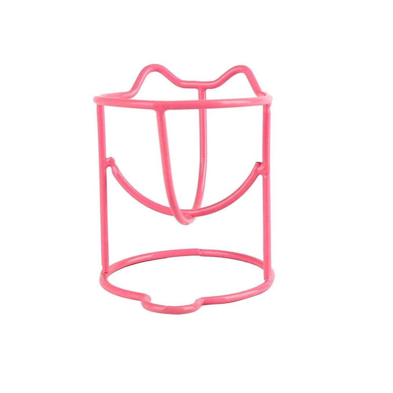 分配します怒ってニッケルファッションメイク卵パウダーパフスポンジディスプレイスタンド乾燥ホルダーラックのセット