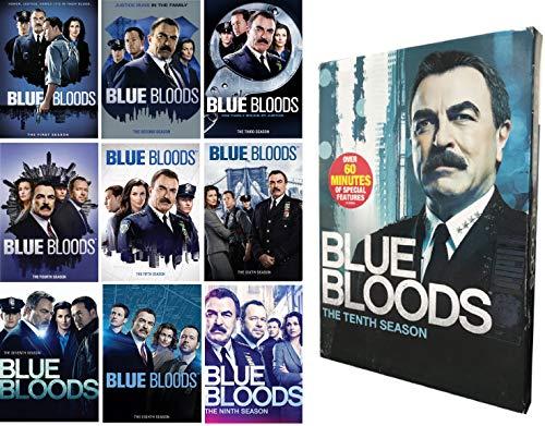 Blue Bloods DVD Complete Series Season 1-10