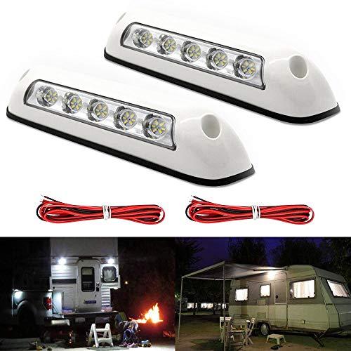 12V Markisenleuchten/RV LED Veranda Lichter Innenwandleuchten für LKW, Wohnmobil, Anhänger, Boote, Yacht, Wohnwagen, RV Van Camper