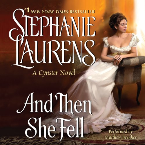 And Then She Fell audiobook cover art
